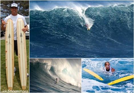 Chuck Patterson ski surfing