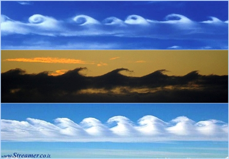 Wave clouds ענני גלים