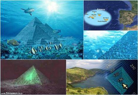 כמו במצרים: תעלומת הפירמידה באוקיאנוס האטלנטי Mysterious underwater pyramid found near Azores