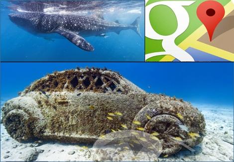 לצלול עם גוגל ולטייל על קרקעית הים ? חדש מבית Google Maps Google Maps Dives the Oceans for Underwater Street Views