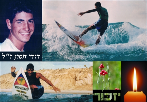 "<font color=""#333333""><strong><font color=""#990000"">Israel Memorial day</font>  - Nizkor - <font color=""#990000"">David Hason</font> from Ashqelon was killed by a suicide bomber at  Bet-Lid 22/01/1995. The love to the ocean started in an early age,  Surfing was the peak of his dreams and Joy - we will allways remember.</strong></font>"