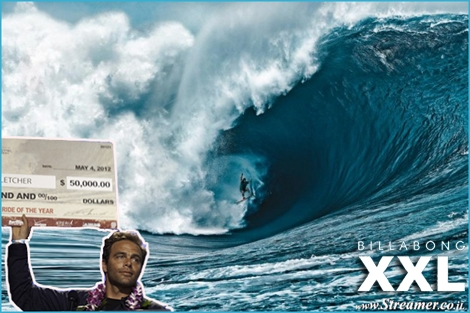 "<font color=""#003366""><strong>The 35 year-old goofy-foot <font color=""#7a0000"">Nathan Fletcher</font> walked away from Billabong XXL 2012 with a winning the prestige -&nbsp; Ride of the Year Award. Fletcher also became the first surfer in the 12-year history of Billabong XXL Global Big Awards to win three awards in the one night. <a href=""http://streamer.co.il/news/view/332/"">Click here to read more</a></strong></font>"
