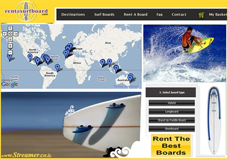 "<font color=""#003366""><strong>Travelling with a surfboard has never been easy. It's expensive and you might get two pieces of a surfboard in the end. A new website offers unique services for surfers who travel and reserve in advance a quality surfboard in many destination around the globe. <a href=""http://streamer.co.il/news/view/339/"">click here to read more</a></strong></font>"