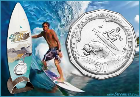 "<font color=""#003366""><strong>Surfing Australia has released an official collector's coin to commemorate its 50th anniversary, while in New Zealand students will be learning to surf in a three week long programme, which will be staged at Piha Beach. <a href=""http://streamer.co.il/news/view/351/"">Click here to read more</a></strong></font>"