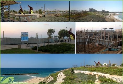 "<font color=""#003366""><strong><font color=""#8e0000"">Coffee House is built on the edge of the cliff promenade Ashkelon.</font> It seems that the season of the coffee beans is not related to the amount of rain coming down, but for unexplained establishment of cafes  in close proximity to the beach, instead of tackling dangerous hazards exist along the coast. Why did it have to come at the expense of the view of the sea and so dangerously on the edge of the cliff? <a href=""http://streamer.co.il/news/view/352/"">click here to read</a></strong></font>"