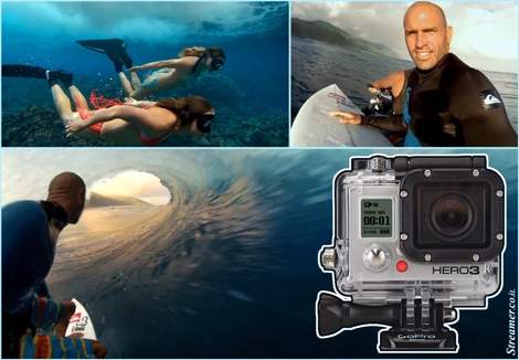 "<font color=""#000080""><strong><font color=""#700000"">I</font><font color=""#003366""><font color=""#700000"">ntroducing the GoPro HD Hero3 </font>- Extreme Movie quality. The famous surf camera is smaller, lighter and more powerful than previous models. <a href=""http://streamer.co.il/news/view/362/"">click here</a> to read more and watch a magnificent clip made with the Hero3.</font></strong></font>"