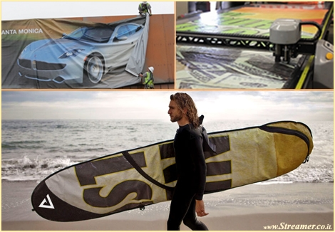 "<font color=""#003366""><strong><font color=""#008000"">Eco friendly surfboard bag</font> - Recycling billboard. California Rareform company came up with a great idea, using the </strong></font><font color=""#003300""><strong><font color=""#003366"">freeway billboards and transform them into unique, eco-friendly surfboard bags and surf accessories. <a href=""http://streamer.co.il/news/view/380/"">Click here to read</a></font><br /></strong></font>"