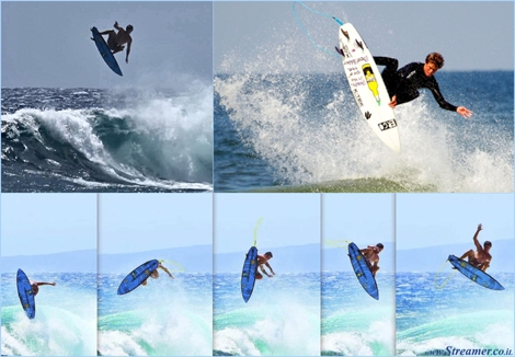 "<font color=""#003366""><strong>After broken joints, broken boards and broken fins, <font color=""#700000"">Albee Layer</font> 21yo from Hawaii has successfully completed the first double Alley Oop in the history of surfing. <a href=""http://streamer.co.il/clips/view/120/"">Click here to read and watch</a></strong></font>"