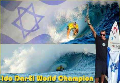 "<font color=""#003366""><strong><font color=""#700000"">Ido Dar-El (46yo) from Israel is the world's deaf surfing champion</font>. Ido has never gave up his dream and despite his hearing disability he won the deaf surfing championship (Masters category 35+) in Hawaii. Congratulations Ido! Respect to great achievement.</strong></font>"