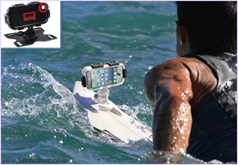 "<font color=""#003366""><strong><font color=""#650000"">Go... Smartphone! </font></strong></font><font color=""#003366""><strong>Qmountz  is the  newest waterproof case for  the iPhone and Samsung Galaxy. Now,  you can  capture all surfing action  with your own smartphone and add  apps for  special features.</strong><strong> <a href=""http://streamer.co.il/news/view/386/"">Click here to read</a></strong></font>"
