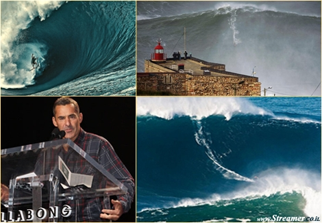 "<font color=""#003366""><strong><font color=""#8e0000"">Garrett McNamara</font>  has decided to withdraw from the prestigious 2013 Billabong XXL Global  Big Wave Awards. The man who defies Nature with a 100 ft monster wave in  Nazare says he wants to keep his rides pure and away from prizes,  non-official sponsors and alcohol endorsement. <a href=""http://streamer.co.il/news/view/392/"">Click here to read more</a></strong></font>"