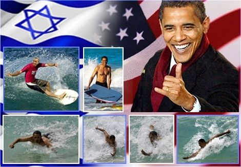 "<font color=""#003366""><strong><span style=""background-color: #990000""><font color=""#FFFFFF"">Wellcome to Israel, President of the United States, Mr. Barck Obama...! </font></span>Respect   to the Hawaiian friend who grew up next to the ocean and became the   president of the most powerful nation in the world. On his vacations to   Hawaii Mr. Obama might be doing only body surfing but he allways wave   hello with the <a href=""http://streamer.co.il/articles/view/106/"">Shaka</a> sign:) Wellcome Mr. President, It will be an honour  if you could come body surfing in Ashqelon:)</strong></font>"