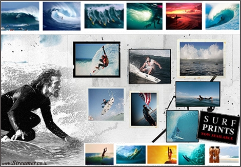 "<font color=""#003366""><strong><font color=""#650000"">Surf Images</font>, one  of the largest online stocks of surfing photography, will be providing  surfing murals, prints and posters for all surf fans and photo  enthusiasts. With 50,000 surf-inspired photos, SurfImages.com has been  collecting high-quality images from surfing and surfers from around the  world. Also available on <font color=""#650000"">Streamer</font> website - <a href=""http://streamer.co.il/news/view/403/"">Click here to read</a></strong></font>"