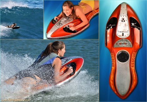 "<font color=""#003366""><strong><font color=""#510000"">No longer just a spunge: bodyboard with jet power...!</font>&nbsp; After Ten years in the making, The cheap and easily transportable personal  watercraft designed by Jason Woods, the Kymerajet Body Board,  has seen  the light of day. Click here to <a href=""http://streamer.co.il/news/view/408/"">read and watch</a> it in Actions </strong></font>"