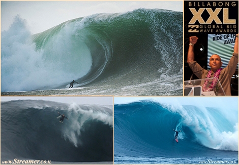 "<font color=""#003366""><strong><font color=""#7a0000"">The 2013 Billabong XXL Awards winners:</font> Shane Dorian and Shawn Dollar split glory at the 2013 Billabong XXL Awards - <a href=""http://streamer.co.il/news/view/409/"">Click here to read and watch</a></strong></font>"