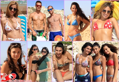 "<font color=""#003366""><strong><font color=""#7a007a"">Summer in the air</font>... the sun is shining bright and the sea slowly  warms up. A short tour at at the local Beach of Ashkelon reveals what was  hidden in last winter: most beautiful people, tender smile, happy colors swimsuit, 6 packed men and triangled women :)&nbsp; </strong></font><font color=""#650000""><strong><font color=""#003366"">Watch the photo album from friday <a href=""http://streamer.co.il/gallery/cat/friday_beach_people_-17__3_2_13"">17.05.2013</a> at Ba-Kochva beach Ashqelon, Israel</font> </strong></font>"