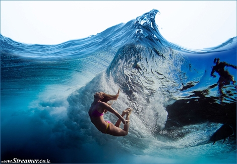 "<font color=""#003366""><strong><font color=""#7a0000"">Cymophobia - The fear of waves and water.</font> Surf fear. Everyone dreams of surfing a giant wave but sometimes fear simply drives your body away from it. Having fear is normal, It's a natural instinct of defense and survival. There are many fears associated with surfing and wave sports <a href=""http://streamer.co.il/articles/view/165/"">click here to read about them</a></strong></font>"