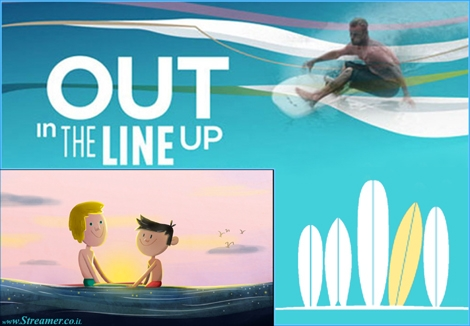 "<font color=""#003366""><strong><font color=""#510051"">Gay surfers are out in the line up!</font>&nbsp; &quot;Out In The Line-Up&quot; is a documentary about homosexuality and surfing that examines </strong></font><font color=""#003366""><strong>the Homophobia in the surf  world</strong></font><font color=""#003366""><strong> and why people think there aren't any gay surfers . <a href=""http://streamer.co.il/news/view/420/"">Click here to read and watch</a></strong></font>"