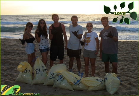 "<font color=""#003366""><strong><font color=""#008000"">Love is what we have:) </font>On   Friday 12 July 2013 we have conducted a modest but efficiant beach   clean-up project at Datiyim beach Ashqelon. Apperantly it takes a few   people to make the beach dirty and SIX brave people to clean it.   Respect to the dear green friends! <a href=""https://www.facebook.com/groups/48807982711/"" target=""_blank"">Join our green / blue cause on facebook</a>. </strong></font>"