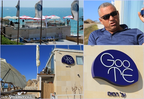 "<font color=""#003366""><strong>Ronen tevakol, Owner of the &quot;Suka levana&quot; complex at Goote beach&nbsp; in Ashqelon, granted to open the place for bussines.</strong></font>"
