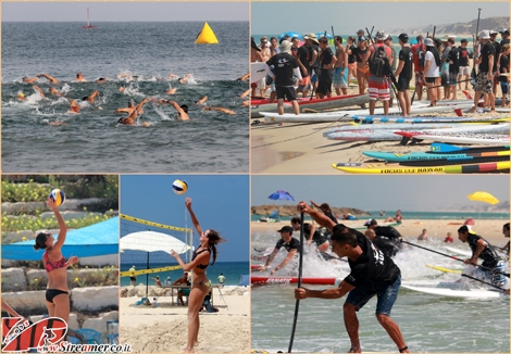"<font color=""#003366""><strong><font color=""#700000"">Water Sport action in Ashqelon! </font>The Sea Festival is held annually at Bar - Kochba beach Ashkelon and hosts many athletes from across the country competing in different sports: swimming, Sup surfing, beach volleyball and more. Click on main photo to watch the gallery from the event on <a href=""http://streamer.co.il/gallery/cat/swimming_and_sup_contest_-_ashqelon_3_-_8-2_13"">Friday 30/08/2013</a></strong></font>"
