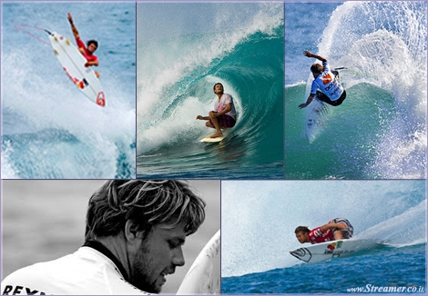 "<font color=""#003366""><strong><font color=""#840000"">Make some room to Raynolds...!</font> He rarely smiles, and he pretends he hates surfing... &quot;Dane's Excuses&quot; is the perfect postcard of a man who couldn't feel happy in modern competitive surfing.&nbsp; <a href=""http://streamer.co.il/clips/view/134"">Click here to watch</a></strong></font>"