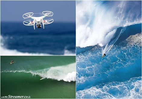 "<font color=""#003366""><strong><font color=""#650000"">The new surfing angle of drone's cam.</font> It is not fictional nor U.F.O, The future of surfing comes from the sky in the figure of drones. </strong><strong>The commercial drone industry is taking off and surfing prepares to welcome a brand new angle - <a href=""http://streamer.co.il/news/view/449"">Click here to read</a><br /></strong></font>"