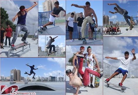 "<font color=""#003366""><strong><font color=""#650000"">A new Skatepark was inaugurated in ashqelon.</font>  A wide and round concrete yard has a variety of different riding  facilities: Half-Pipe, Verts, Ledges, Mini ramp and other concrete  bariccades wich provides wide posibilities of maneuvers. Click on main  photo to watch the album from <a href=""http://streamer.co.il/gallery/cat/new_skatepark_in_ashqelon_-_19__9_2_13"">Wednesday 19/09/2013</a></strong></font>"