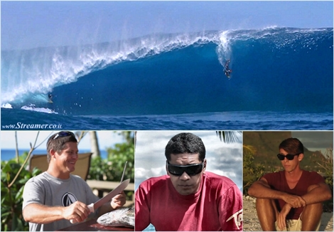 "<font color=""#003366""><strong><font color=""#510000"">Faatura = Respect! </font>The tow-in versus paddle in controversy has reached a new climax, following the Dave Wassel versus John Duval wave battle. The Tahitian wave riders have sent a clear message to the tow-in surfing community. No jet skis will be tolerated at Sapinus, Teahopu</strong></font>.<a href=""http://streamer.co.il/news/view/452""><font color=""#003366""><strong> Click here for further reading.</strong></font></a>"