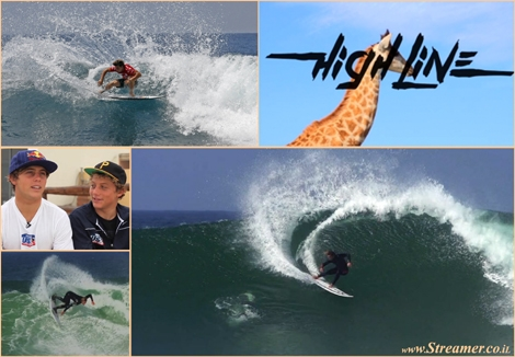 "<font color=""#003366""><strong><font color=""#5b0000"">HIGHLINE- Power surfing film with the Connor bros.</font> In this film you won't find a single Air , Only excellent Pocket placement and powerful carves. <a href=""http://streamer.co.il/clips/view/142"">Click here to watch</a></strong></font>"