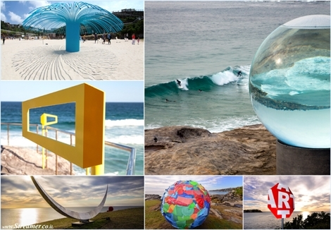 "<font color=""#003366""><strong><font color=""#470000"">Over the Horizon: &quot;Sculpture by the sea&quot; in sydney Australia.</font>  Around a 100  sculptures are displayed along the track from Bondi Beach  to Tamarama  Beach. held for three weeks at the end of October and  early  November. <a href=""http://streamer.co.il/articles/view/183"">Click here to read and watch</a></strong></font>"