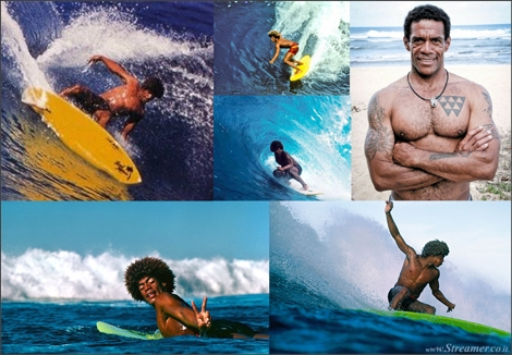 "<font color=""#003366""><strong><font color=""#3d0000"">Aloha buttons</font> - Montgomery &lsquo;Buttons&rsquo; Kaluhiokalani was the godfather of hot dogging. He&rsquo;d churn a carving 360 through the lip on a single fin, then jump into switchfoot and belt the closeout as a goofy-footer. In the 1970s. When nobody was doing that. A few weeks ago button passed away in the age of 54. <a href=""http://streamer.co.il/news/view/470"">Click here to read</a> about his contribution to surfing</strong></font>"