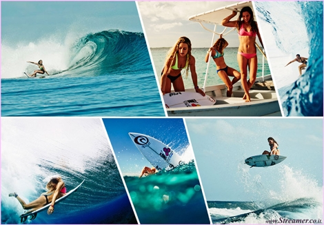 "<font color=""#003366""><strong><font color=""#650065"">Bikini Wars: Rip Curl&rsquo;s VS. Roxy&rsquo;s Biarritz provocative Trailer.</font> Rip Curl produced athlete profiles for their female team riders as part of their upcoming My Bikini range launch. Although they wanted to show the Rip Curl riders as the beautiful woman that they are, they also highlighted individually what surfing means to them. <a href=""http://streamer.co.il/news/view/471"">click here to read</a></strong></font>"