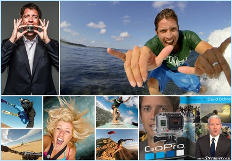 "<font color=""#003366""><strong><font color=""#5b0000"">The Million Dollar surfer!</font>&nbsp; &quot;60 Minutes&quot; profiled GoPro and anderson Cooper sat down with <font color=""#5b0000"">Nick Woodman</font>, CEO of the now billion-dollar company, to talk about how the &ldquo;everything camera&rdquo; got its legs, who uses it, what it can do, and where they are headed. <a href=""http://streamer.co.il/articles/view/184"">Click here to read</a></strong></font>"