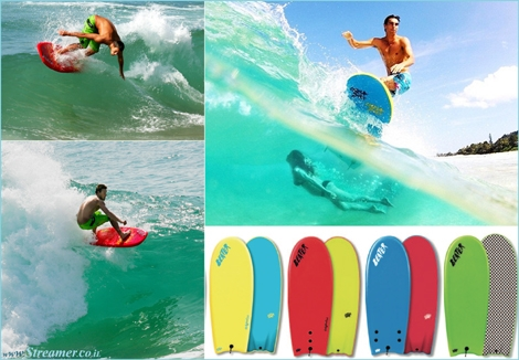 "<font color=""#003366""><strong><font color=""#3d0000"">Sponge tales of the Beater Board</font>. The Beater mania is conquering new surf fans with its retro, portable design. Meet the 4'6'' surfboard that looks like a bread toast. <a href=""http://streamer.co.il/news/view/480"">Click here</a> to read and watch it in action</strong></font>"