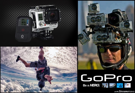 "<font color=""#003366""><strong><font color=""#5b0000"">Go Pro: The full guide for buying the right one.</font> Wihte edition, silver, black, Hero 2 or hero 3 with the Plus or without?... Confused which one to buy? The extreme camera that conquerd our hearts comes in a veriaty of models and It's time to understand their differences. <a href=""http://streamer.co.il/articles/view/188"">CLick here to read</a></strong></font>"