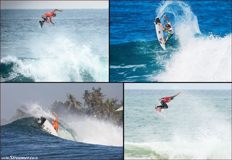 "<font color=""#003366""><strong><font color=""#510000"">Double/Triple J: </font></strong></font><font color=""#003366""><strong>John John Florence (21) from Hawaii and Julian Wilson (25) from OZ, are among the youngest surfers on the worl tour. besides them being ranked at the top, they also have many similarities whrn it comes to their huge airs... Can you tell which is which? <a href=""http://streamer.co.il/clips/view/150"">Click here </a>to watch 3 video clips </strong></font>"