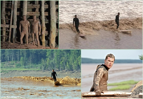 "<font color=""#003366""><strong><font color=""#650000"">Hang 10 on a chocolate Canadian River.</font> A pair of surfer dudes from the land of Endless Summer recently conquered an epic wave in the land of Endless Winter, helping to turn a small Canadian city into a new surfing hotspot. <a href=""http://streamer.co.il/articles/view/191"">Click here to read</a></strong></font>"