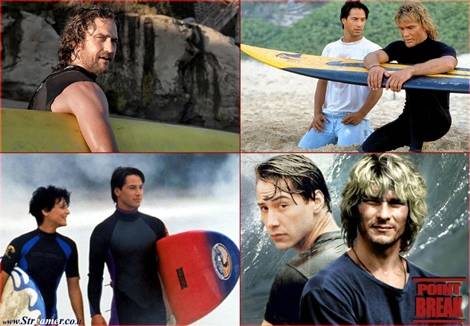 "<font color=""#003366""><strong><font color=""#510000"">Point Break Remake: Bhodi and Utah back from the 90's.</font> After the death of Swayze, the &quot;Point Break&quot; sequel idea  was abandoned, but a remake has been in the headlines since 2011, when  Alcon Entertainment showed signs of interest. Keanu Reeves has ruled the possibility of participating but </strong><strong>Gerard Butler is set be Bodhi. <a href=""http://streamer.co.il/articles/view/192"">click here to read</a><br /></strong></font>"