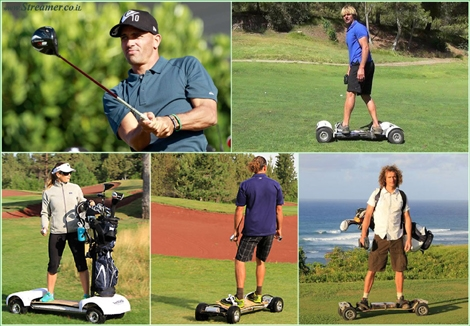 "<font color=""#003366""><strong><font color=""#650000"">Surfing golf courses with a board under your feet.</font> Have you ever imagined yourself &quot;surfing&quot; a golf course? Meet the new GolfBoard that will give you the chance to carve the greens... Kelly Slater will definitely love it :) - <a href=""http://streamer.co.il/news/view/499"">click here to read</a></strong></font>"