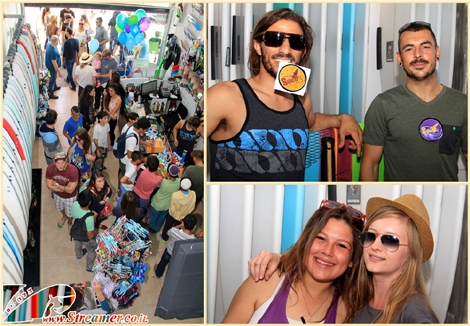 "<font color=""#003366""><strong><font color=""#510000"">Squid </font>- The gran openning of the new surf and skate shop in Ashqelon. 2 stories of original surf and skate gear along with clothing and bathing suits veriety. Click on main hoto to watch the gallery from the event, friends and shop, <a href=""http://streamer.co.il/gallery/cat/the_openning_of_the_surf_and_skate_shop_in_ashqelon_-_squid"">Friday 04 April 2014</a>.</strong></font>"