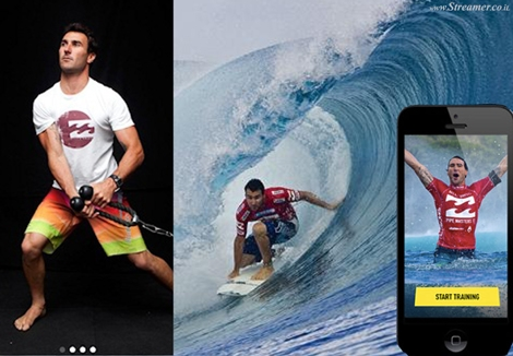 "<font color=""#003366""><strong><font color=""#650000"">Parko style: Surf training with a Mobile App.</font> &quot;Joel Parkinson Pro Surf Training&quot; is a mobile phone app with 30 programs and over 150 surfing specific exercises to make you a stronger, faster, better surfer. Select the type of wave you want to train for; or follow the different stops of the World Tour to train like a pro! <a href=""http://streamer.co.il/news/view/521/"">Click here to read</a></strong></font>"