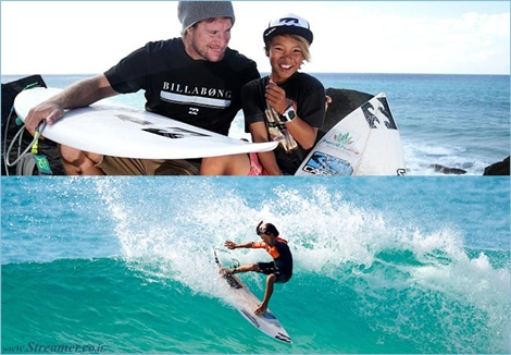 "<font color=""#003366""><strong><font color=""#5b0000"">Like Father like Pro...!</font> 11 Years old, Jay Occhilupo, son of surfing legend Mark Occhilupo, has signed a contract deal with Billabong. <a href=""http://streamer.co.il/news/view/525/"">Click here to read</a></strong></font>"