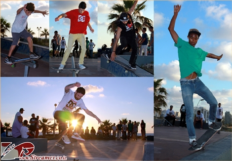 "<font color=""#003366""><strong><font color=""#510000"">Session DC</font> - At the (old) skatepark by the sea of Ashqelon, A skatebording session  was going off. The Israeli DC team came for a promotion visit and joined  the local motion. Grinding, jumping and more... click here to watch the album from <a href=""http://streamer.co.il/gallery/cat/session_dc_skateboarding_ashqelon_-_12__5_14/"">Monday 12.05.2014</a></strong></font>"