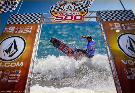 "<font color=""#003366""><strong><font color=""#470000"">Racecar Surfboards:)</font> Cam Richards has claimed the 2014 &quot;Newport 500&quot; Totally Crustaceous Tour Championships, a race-car themed surf contest held by Volcom. <a href=""http://streamer.co.il/clips/view/162/"">Click here to wacth</a></strong></font>"