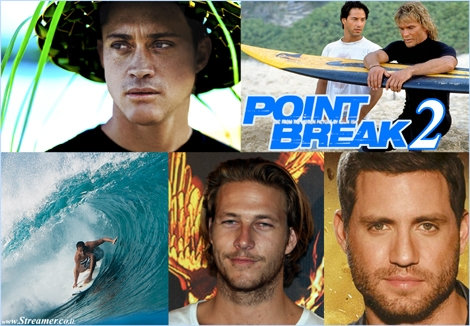 "<font color=""#003366""><strong><font color=""#5b0000"">100% pure adenaline</font> - who are the new stars in the point break remake? Luke Bracey in the Johnny Utah role, Edgar Ramirez as Bodhi and Surf stunts will be performed by Makua Rothman. <a href=""http://streamer.co.il/articles/view/201/"">Click here to read more</a></strong></font>"