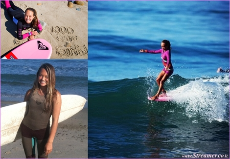 "<font color=""#003366""><strong><font color=""#700070"">Meg Roh would go!</font> Meg Roh, a 15-year-old surfer from Dana piont California, has completed 1095 consecutive days of surfing. In other words, three years of daily stoke. <a href=""http://streamer.co.il/news/view/532/"">Click here to fall in love</a></strong></font>"