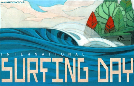 "<font color=""#000080""><strong><font color=""#003366""><font color=""#0000FF"">20 June 2014 - Happy International surfing day!</font> On the 20th June, wave riders celebrate the International Surfing Day. Time for surfers to be proud of their sport, and help keeping our oceans and environment pure and protected. <a href=""http://streamer.co.il/news/view/535/"">Click her to read</a></font><br /></strong></font>"