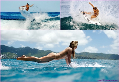 "<font color=""#003366""><strong><font color=""#840084"">Coco Ho rides naked for ESPN The Magazine</font> The 23-year-old wave rider born in Honolulu, Hawaii, joins Kelly Slater, Stephanie Gilmore, and Maya Gabeira, in the list of surfers who dropped their clothes for ESPN's Body Issue. <a href=""http://streamer.co.il/news/view/543/"">Click here to watch</a></strong></font>"