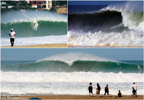 "<font color=""#003366""><strong><font color=""#650000"">Puerto Escondido delivers the biggest waves of the decade.</font> When one of the biggest swells of the decade hits South America, big wave addicts know where to go. Next destination: Playa Zicatela, Puerto Escondido. <a href=""http://streamer.co.il/news/view/545/"">Click here to read and watch</a></strong></font>"